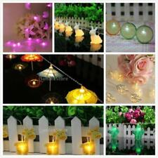 Battery Powered LED String Fairy Lights Wedding Xmas Party Decoration Lights