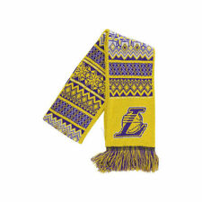 Los Angeles Lakers NBA Ugly Sweater Acrylic Reversible Scarf Winter Basketball