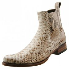 New SENDRA BOOTS Men boots Ankle BOOTS Python leather Leather Shoes