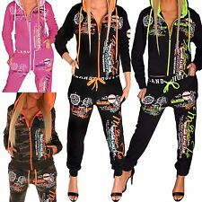 Ladies Leisure Suit Running Jacket Trousers Trackies Tracksuit Bottoms