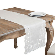 Embroidered and Cutwork Table Linens (Table Topper or Runner)