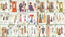 OOP McCalls Sewing Pattern Misses Dress Plus Size You Pick