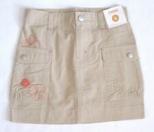 GYMBOREE Burst of Spring Skirt 5 6 7 New Khaki Cargo w/ Separate Bike Shorts