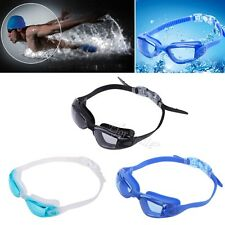 Anti-fog Nose Clip Ear Plug Swimming Swim Goggles Adjustable Glasses Kids&Adults