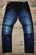 DIESEL DNA KRAYVER 843L 0843L 32 34 36 L32 NEW SLIM CARROT MENS JEANS DISTRESSED