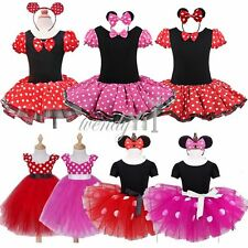 Girls Baby Toddler Cartton Xmas Outfit Party Fancy Tutu Dressing up Costume