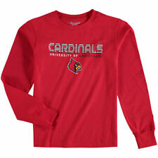 Louisville Cardinals Champion Youth Jersey Long Sleeve T-Shirt - Red - NCAA