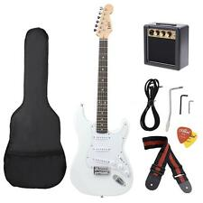 Basswood Electric Guitar with Guitar Amplifier Gig Bag Picks Strap New I4T0