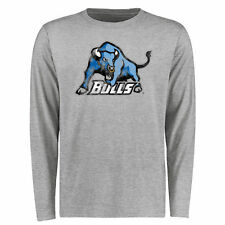 Buffalo Bulls Big & Tall Classic Primary Long Sleeve T-Shirt - Ash - NCAA