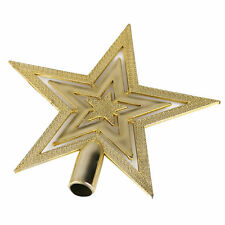 New Christmas Star Tree Topper For Home Party Holiday Ornament Decoration