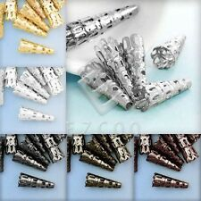 20g Metal Iron Cone Bead End Caps Spacer DIY Jewelry Making Findings 23x8x8mm