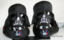 STAR WARS DARTH VADER BLACK HELMET Plush Toddler SLIPPERS HOUSE Shoes S-XL NWT