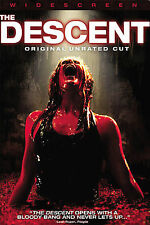 THE DESCENT (DVD, 2006, UNRATED EDITION, WIDESCREEN) NEW