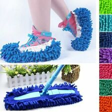 2Pcs Mop Slipper Bathroom Floor Dust Cleaning Polishing Cover Cleaner Foot G