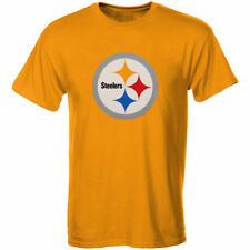 Pittsburgh Steelers Youth Primary Logo T-Shirt - Gold - NFL