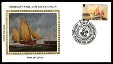 February 24, 1981 Colorano silk cachet fishermen first day cover