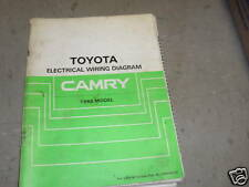 1986 Toyota Camry Electrical Wiring Diagram Troubleshooting Manual EWD OEM