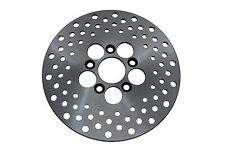 10  Drilled Front or Rear Brake Disc,for Harley Davidson motorcycles,by V-Twin