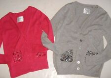 JUSTICE Girls size CHOICE OF 8 or 18 CARDIGAN SWEATER