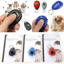 PET DOG TRAINING CLICKER PUPPY CLICK KEYRING TRAINER OBEDIENCE TOOL TEACHING NEW