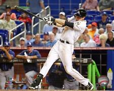 Christian Yelich Miami Marlins MLB Action Photo TU081 (Select Size)