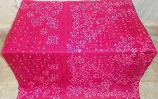 AU Pure silk Antique Vintage Sari Saree Fabric SCRAP 4y Su 1583 Eh Rani #AC9AK