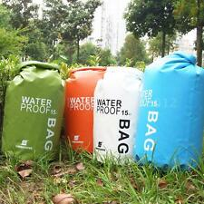 Waterproof Dry Bag Sack Pouch Boating Kayaking Camping Rafting Hiking Bag 1 H8S6