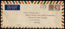March 2, 1953 Baile atha Cliath Ireland airmail cover to New York