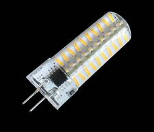 1/10p Dimmable G4 80-4014SMD LED BULB lamp 5W 500lm 110/240V Silicone White/warm