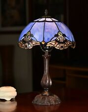 """""""Baroque Accent"""" STYLE REAL STAINED GLASS HANDCRAFTED TIFFANY LAMP(5 Types)"""