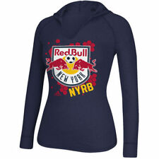 New York Red Bulls Adidas Spackle L/S Hooded  T-Shirt
