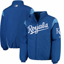 Kansas City Royals Majestic On-Field Therma Base Thermal Full-Zip Jacket - MLB