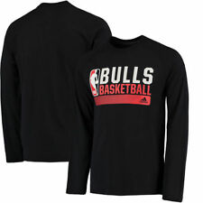 Chicago Bulls adidas Icon Status Ultimate climalite Long Sleeve T-Shirt - NBA
