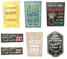 Gisela Graham Large Hanging Signs Plaque Picture Home Decoration