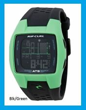 Mens Rip Curl Trestles Oceansearch Tide Watch A1015 Surf Watch FGR Green Black