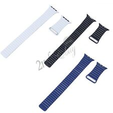 Magnetic Loop Stainless Steel Watch Strap Bands For Apple Watch iWatch 38/42mm