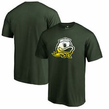 Oregon Ducks Fanatics Branded Gradient Logo T-Shirt - Green - NCAA