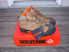 NEW Wolverine work Boot lace up Mens hiking boots 8.5 M med steel toe Durant EH