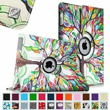 Apple iPad Air 1st Gen 360 Degree Rotating Smart Leather Case Wake/Sleep Cover