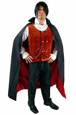 Men's Costume Dracula Gothic Vampire Halloween Horror Bloodsucker K38