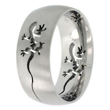 Stainless Steel - Lizard Ring (FR035)