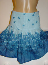 Urban Outfitters Kimchi Blue two tone floral print drop waist skirt gauzy-2 6