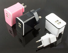 2.1A Dual 2 Port USB AC Wall Charger Power Adapter for iPad Air Mini iPhone iPod