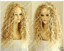 Fashion Wig New Long Sexy Women's Mix Blonde Cosplay Party Curly Natural Wigs Q2
