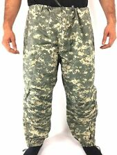ACU Level 6 Extreme Cold Wet Weather Pants, Gen III ECWCS Army Goretex Trousers