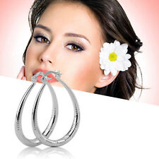 New Unique Fashion Exquisite Silver Plated Woman Lady Earrings Modern Jewelry AU