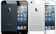 "Apple iPhone 5/4S ""Factory Unlocked"" Black and White Smartphone GSM Unlocked V33"