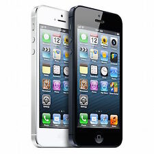 "Apple iPhone 5/4S 16-32-64G""Unlocked"" Black and White Smartphone GSM Unlocked V5"
