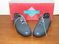 Hush Puppies Lil Jefferson Pewter Leather Dress Shoes