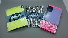 New 2 Pack of Claire's Fishnet Tights Black Yellow Hot Pink One Size rrp £10